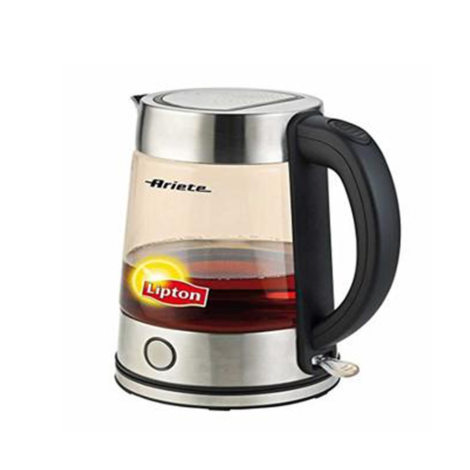 Ariete Lipton 2872 Cordless Electric Glass Tea Kettle