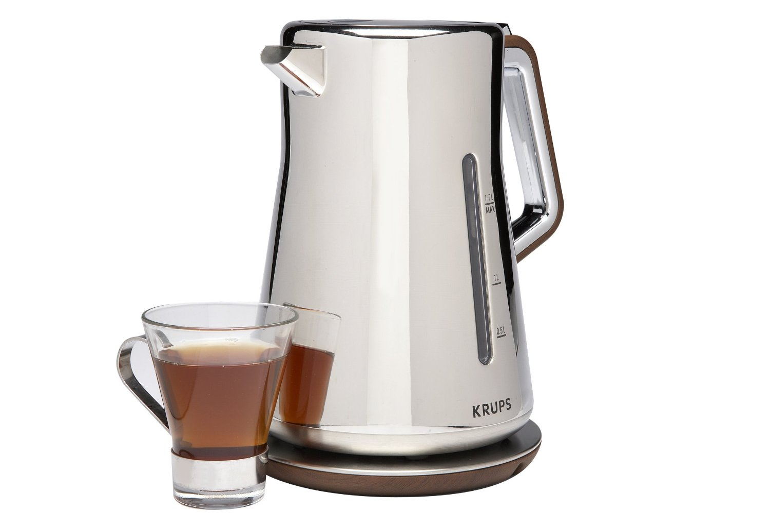 KRUPS BW600 Silver Art Collection Cordless Electric Kettle