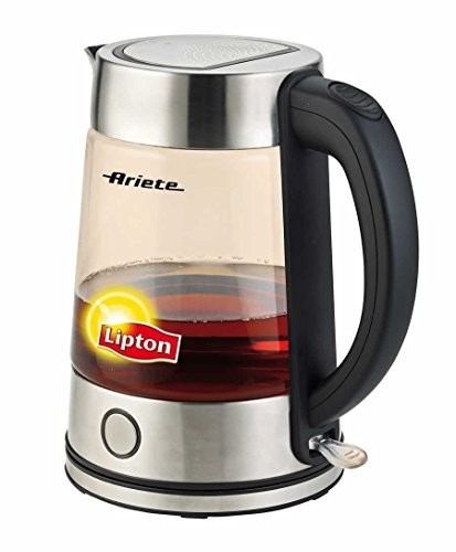 Ariete Lipton 2872 Cordless Electric Glass Kettle