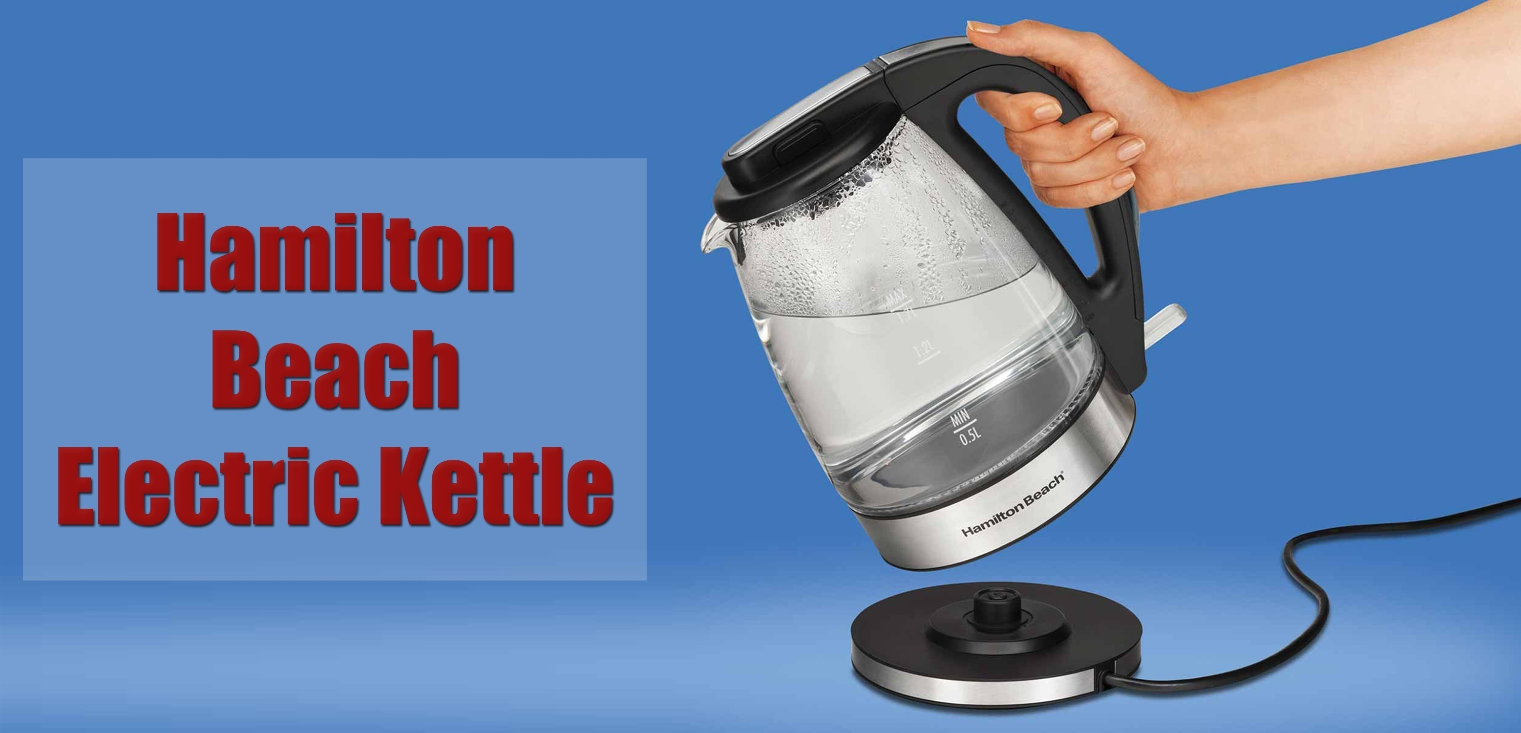 hamilton beach electric kettle reviews
