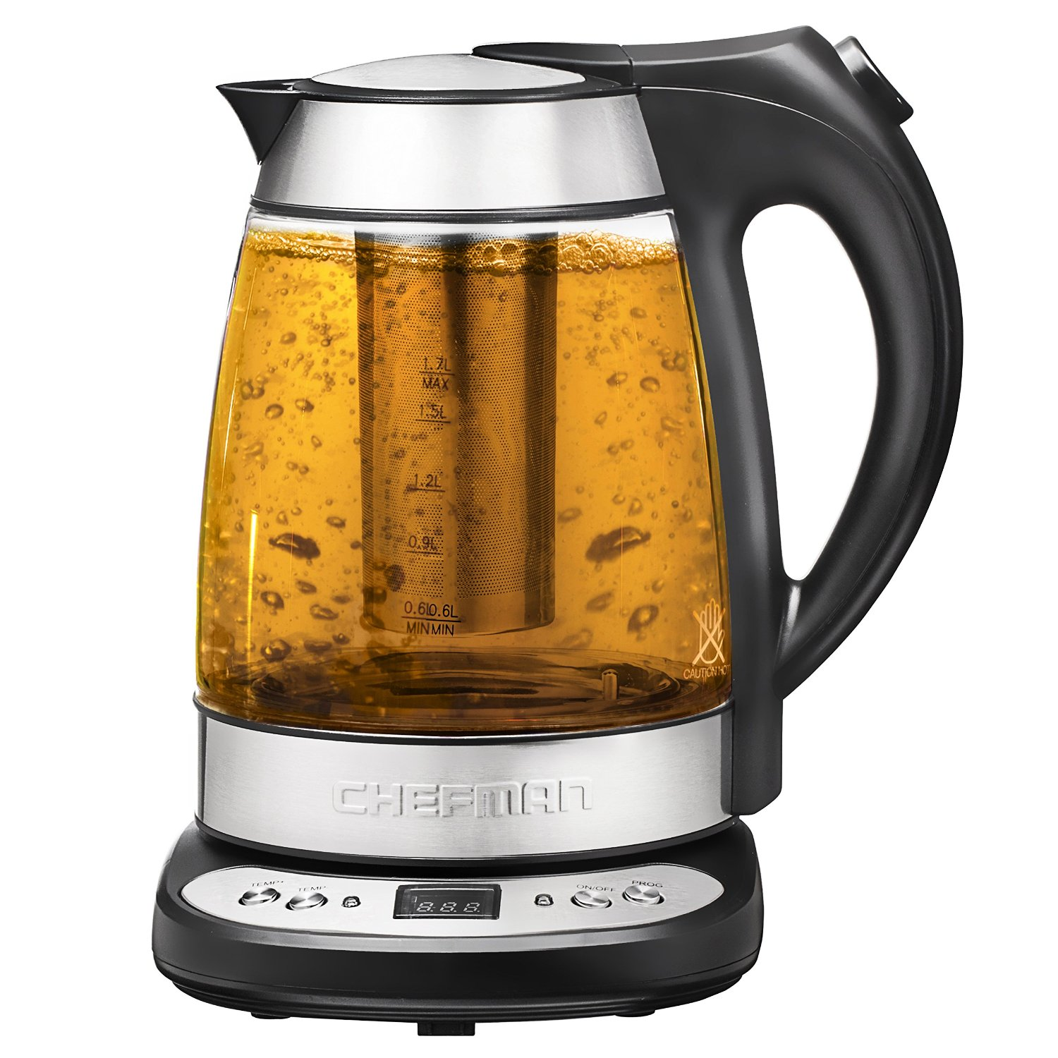 Chefman RJ11-17-GP Precision Electric Kettle