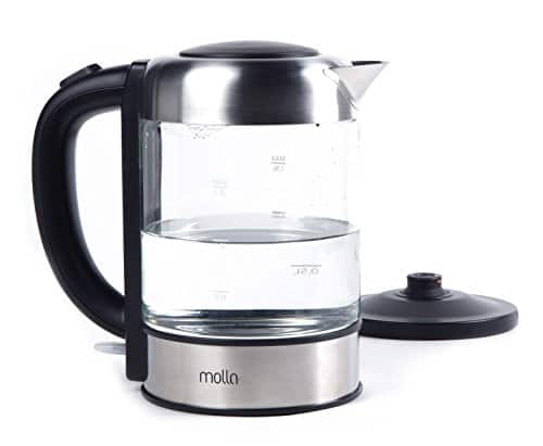 Molla Púro Cordless Glass Electric Water Kettle